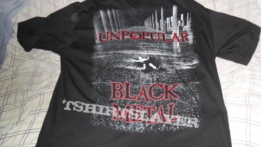 Cradle of Filth - Unpopular Black Metal fanclub shirt, signed by Dani