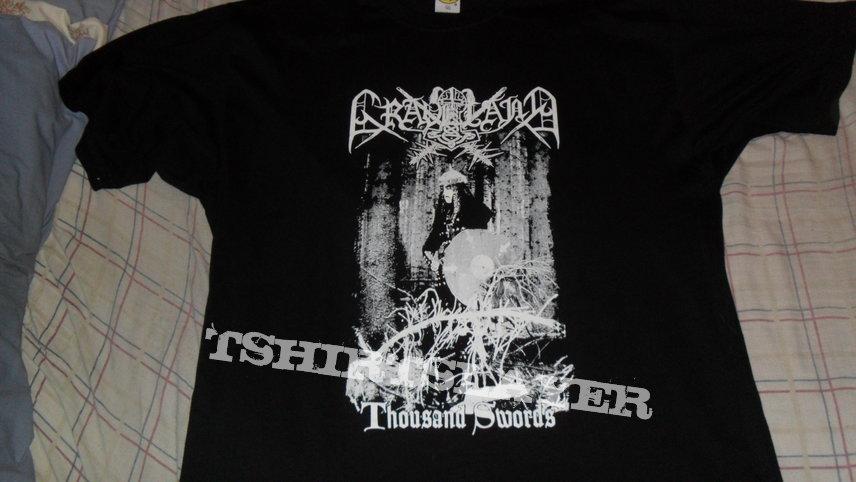 Graveland - Thousand Swords shirt