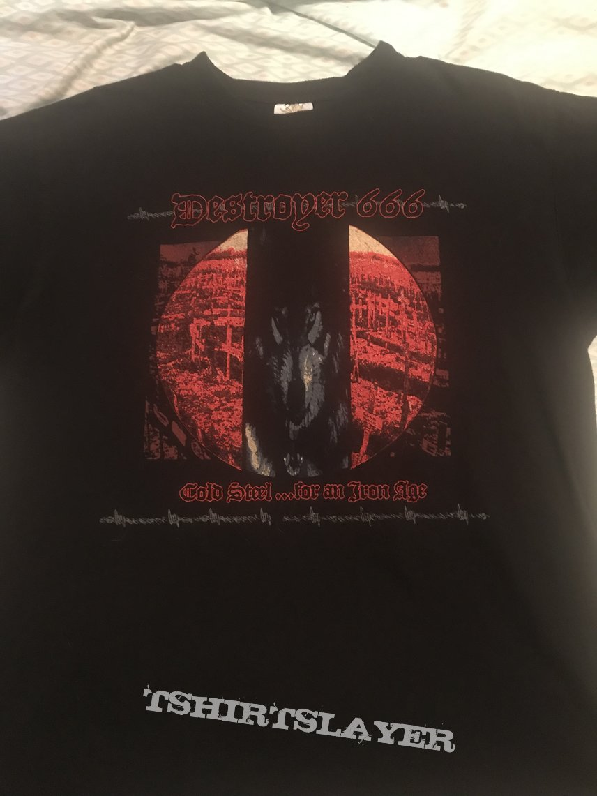 Destroyer 666 - Genocide and Wrath tour 2006 shirt