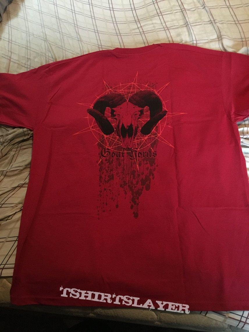 Nokturnal Mortum - Goat Horns 2017 red shirt