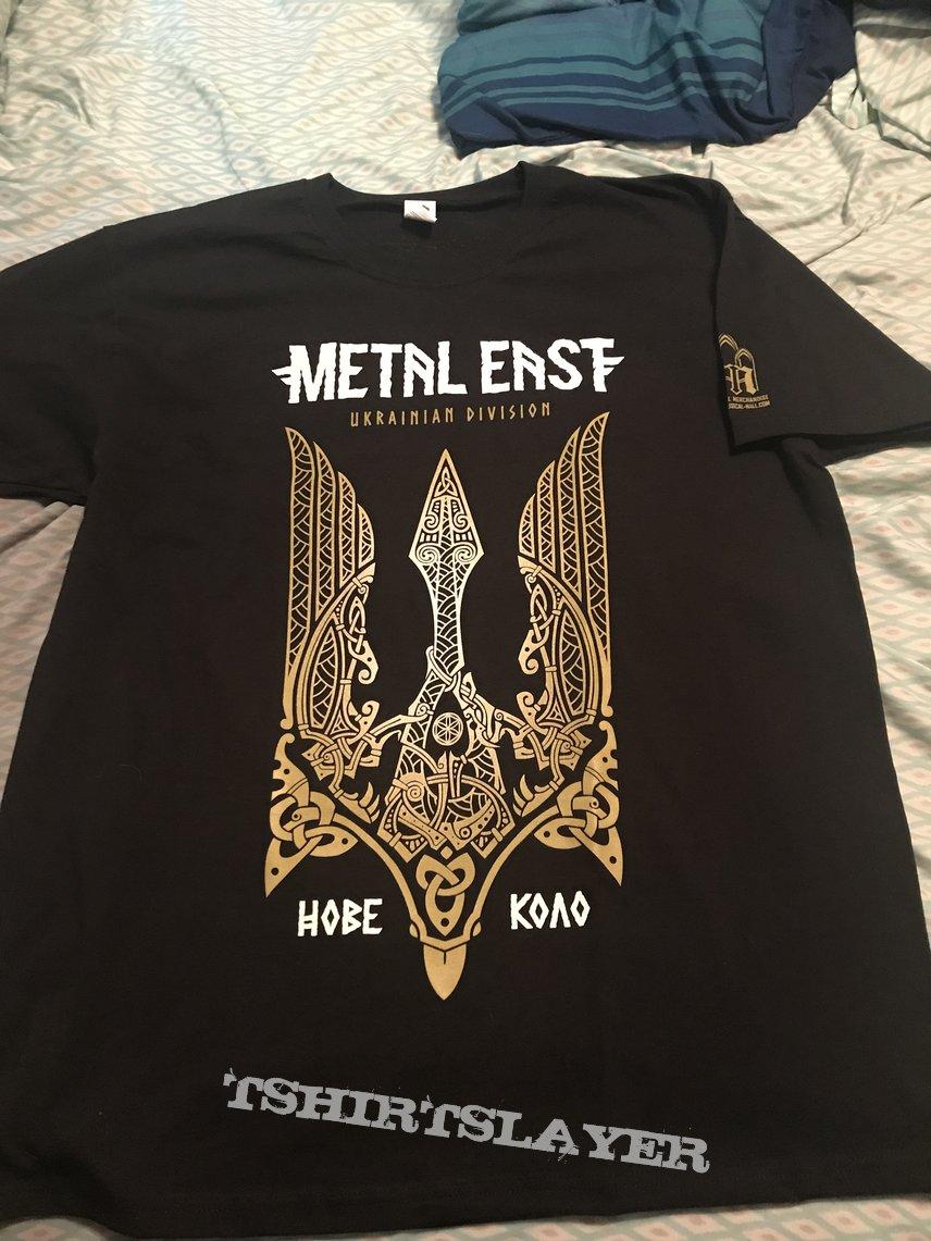 Metal East Nove Kolo - Ukrainian Division shirt