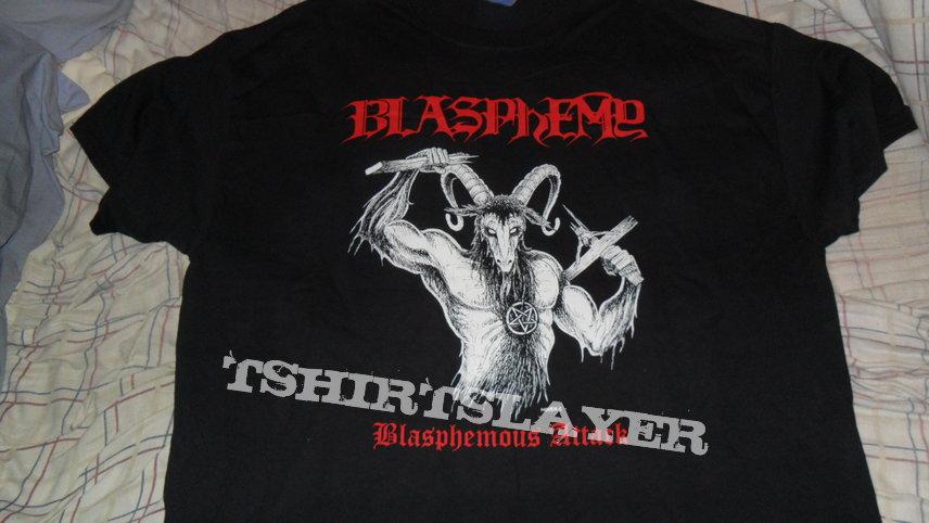 Blasphemy - Blasphemous Attack shirt