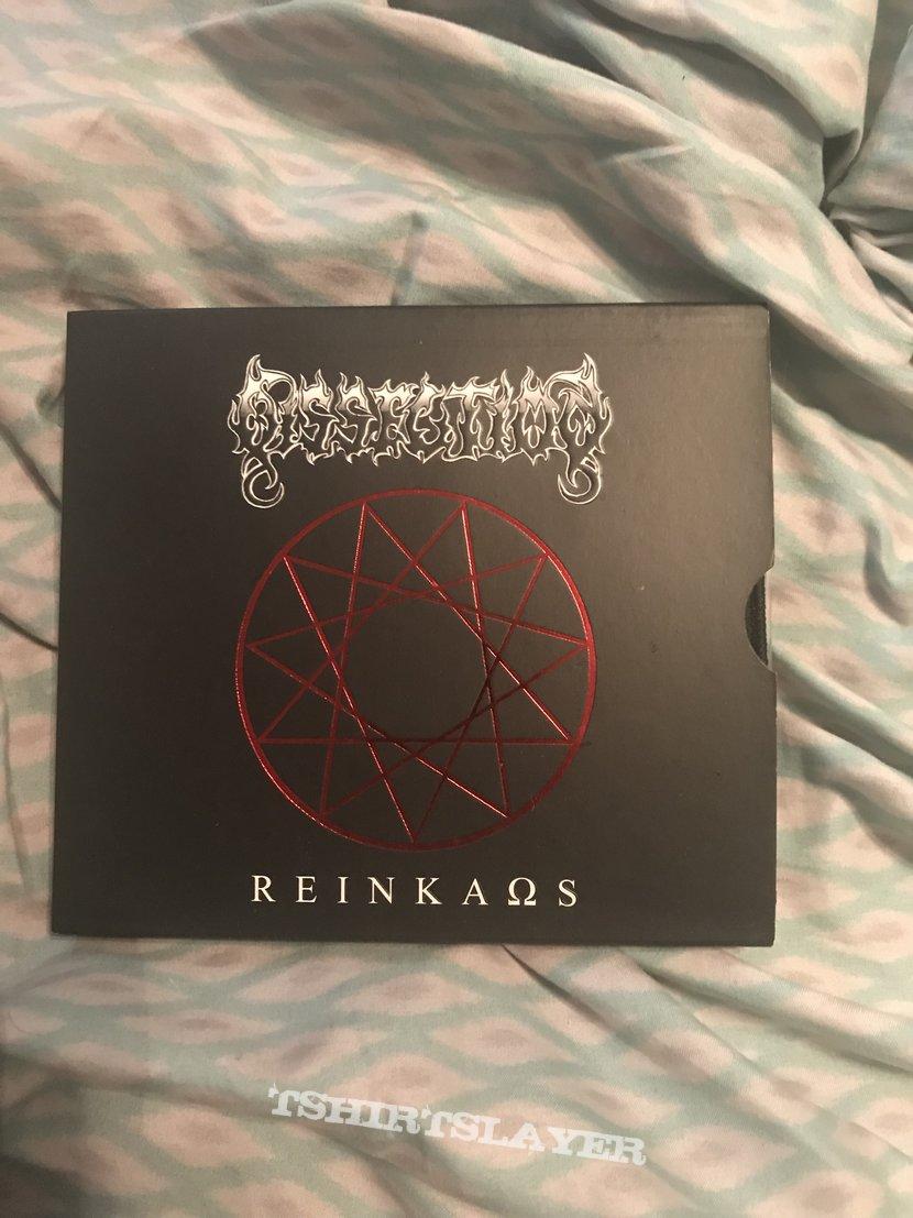 Dissection - Reinkaos slipcase CD red hendecagram