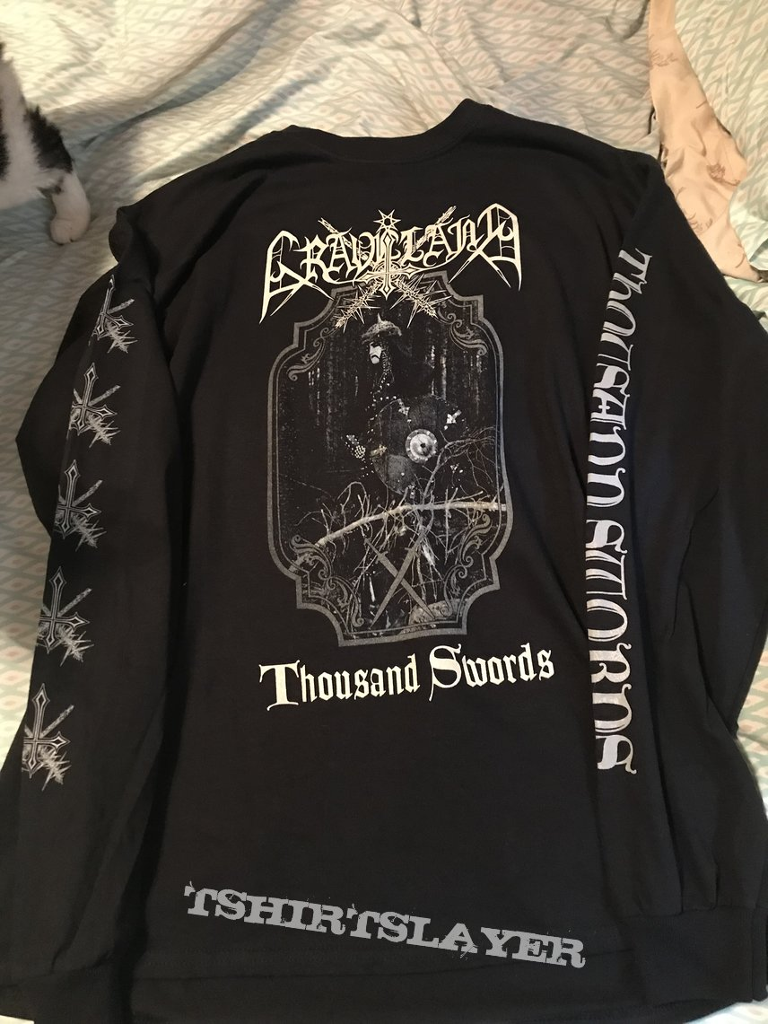 Graveland - Thousand Swords 2019 longsleeve
