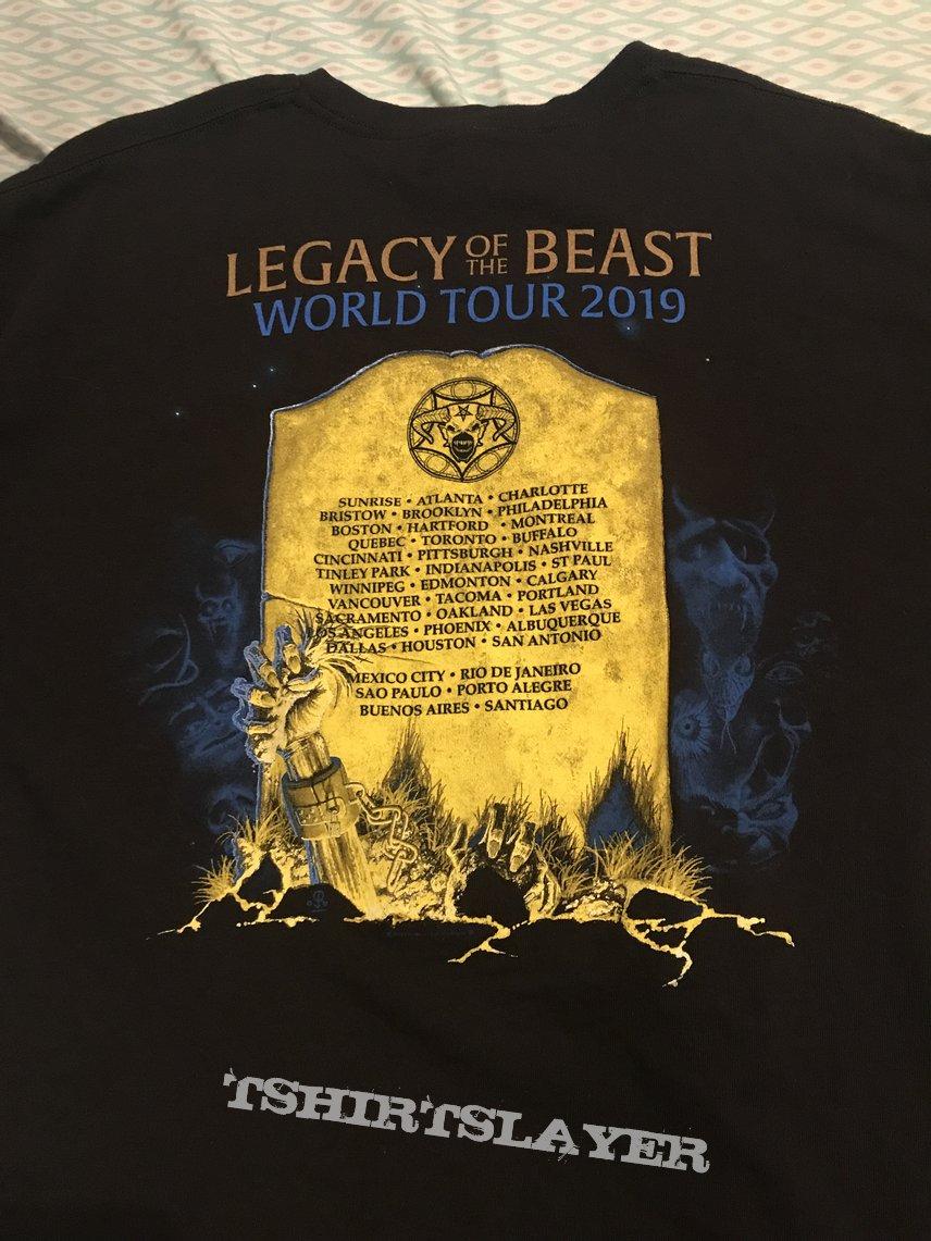 Iron Maiden - Live After Death shirt