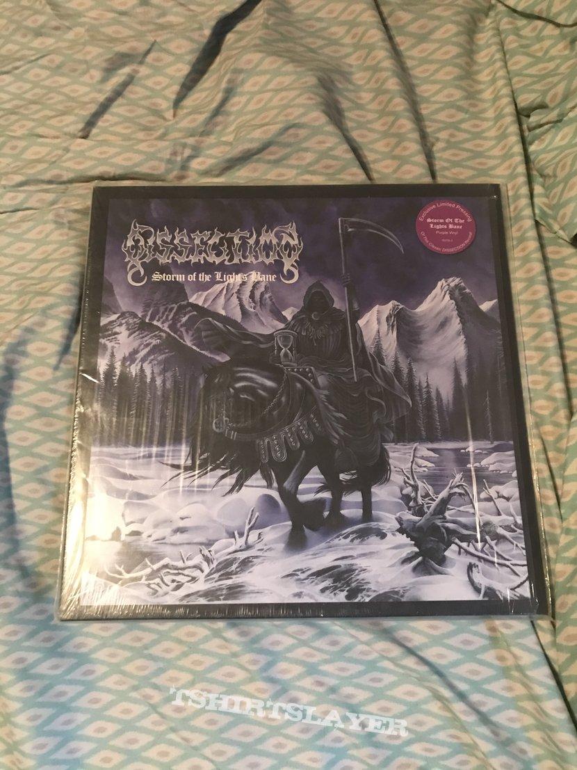 Dissection - Storm of the Light's Bane purple vinyl