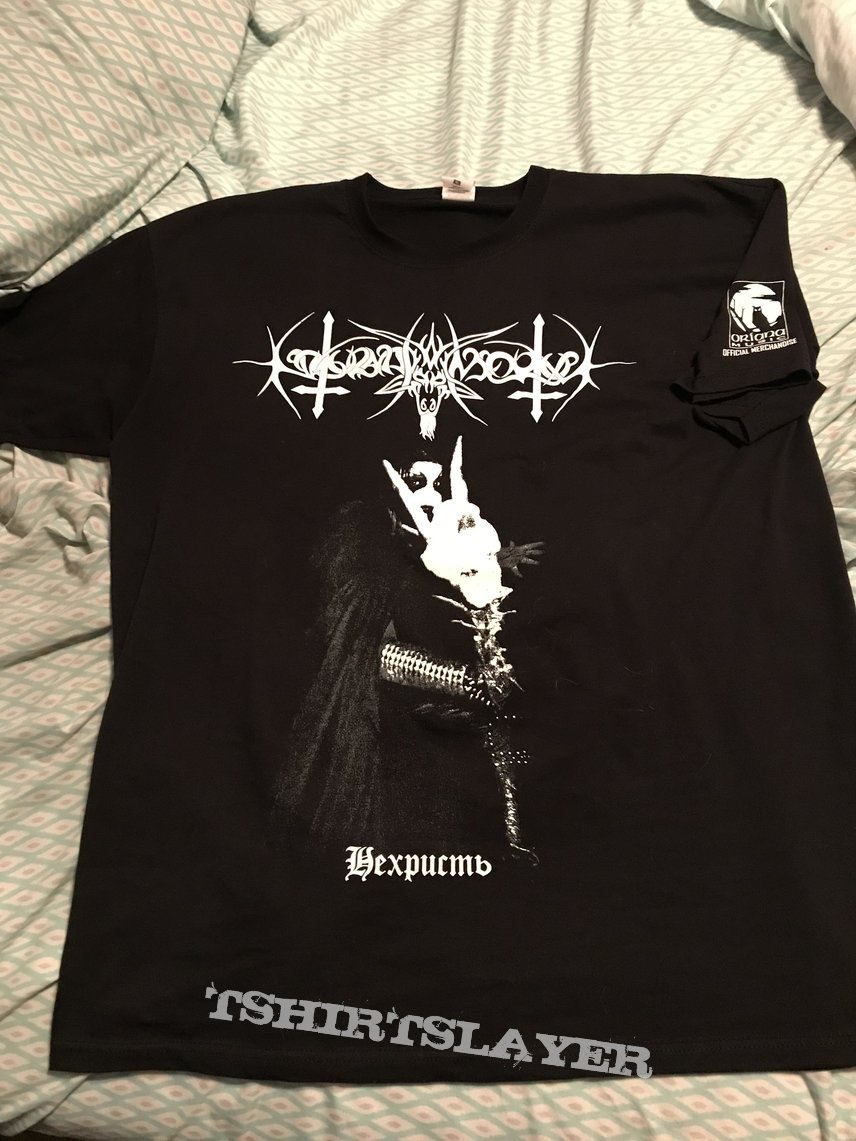 Nokturnal Mortum - NeChrist 2018 shirt
