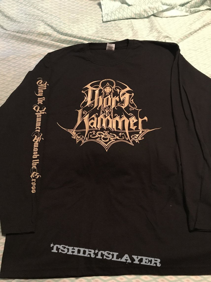 Thor's Hammer - May the Hammer Smash the Cross longsleeve