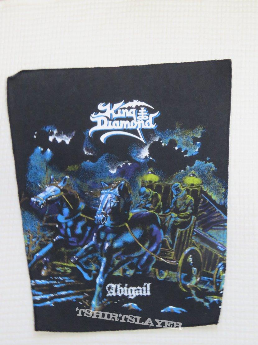 King Diamond abigail backpatch