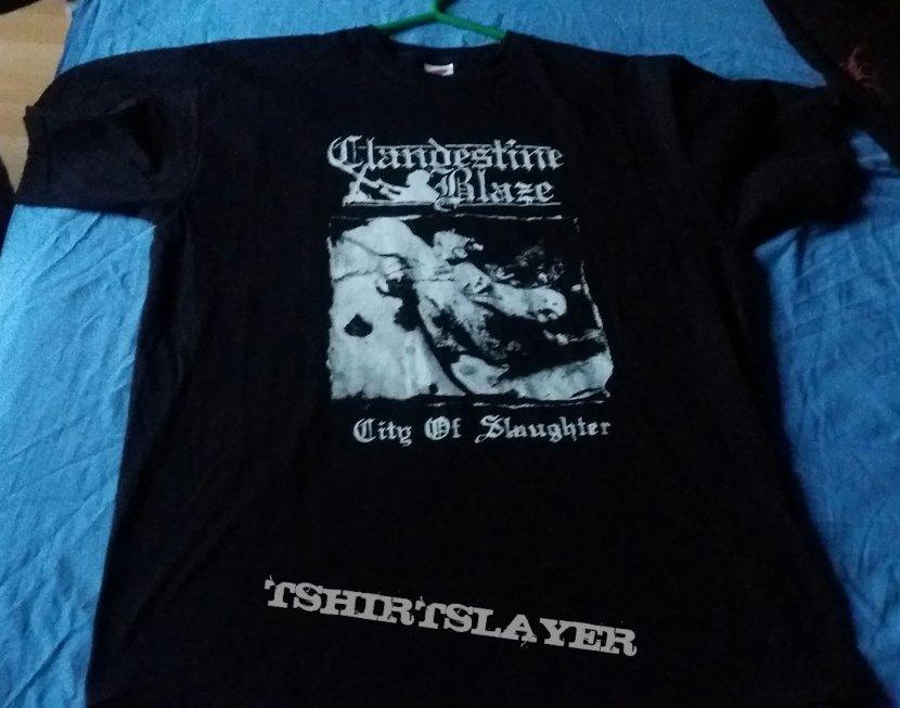 Clandestine Blaze  City Of Slaughter  Shirt