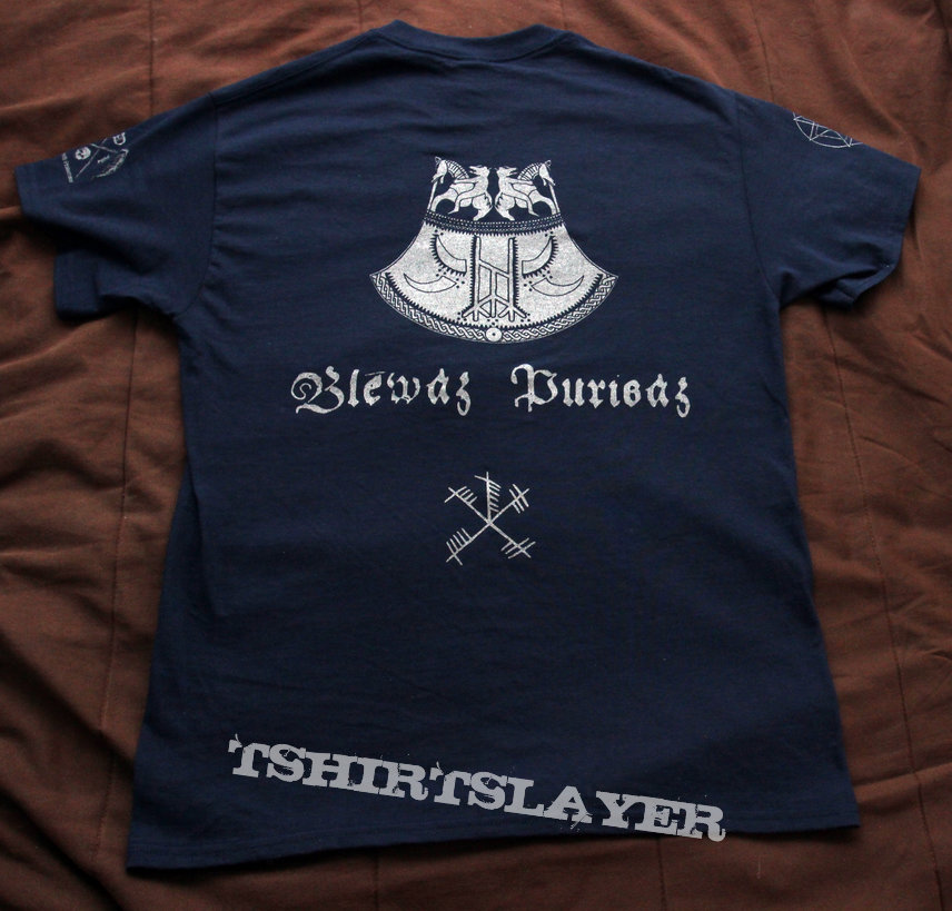 Kiira - Blēwaz Þurisaz shirt & Death Pendant