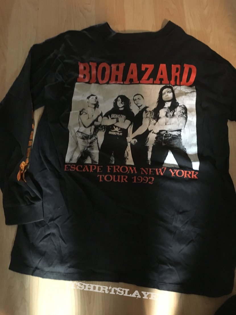 Biohazard Band Shirt