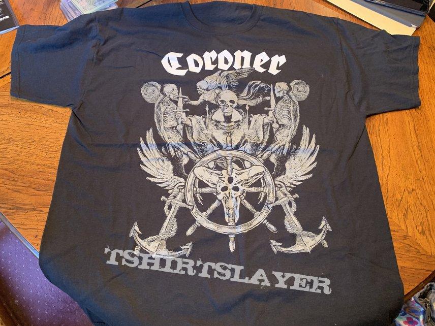 Coroner 70000 tons of metal exclusive