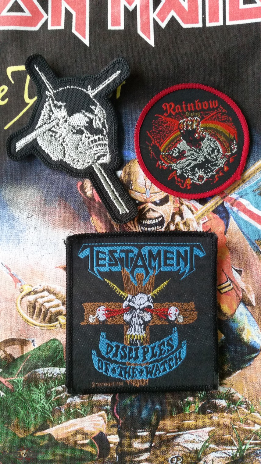 More patches for Second Jacket