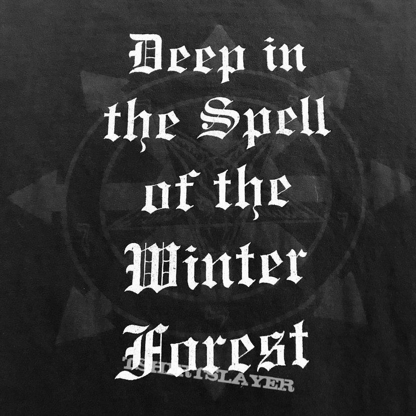 Hecate Enthroned 1997 Deep in the Spell of the Winter Forest shirt