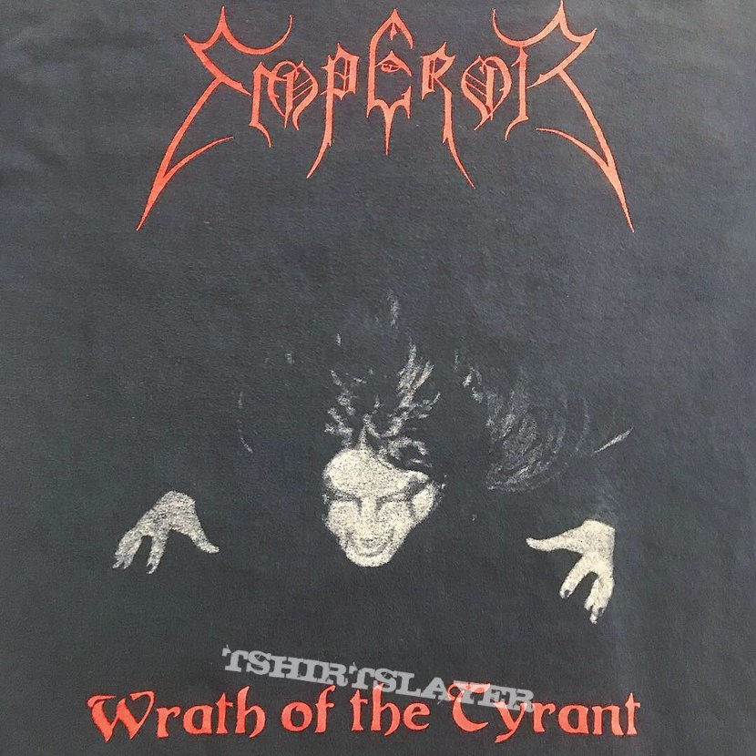 Emperor mid to late 90's Wrath of the Tyrant shirt