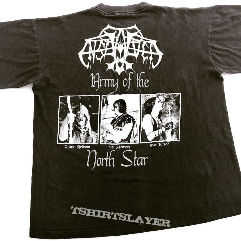 Enslaved 1994 Army of the North Star shirt