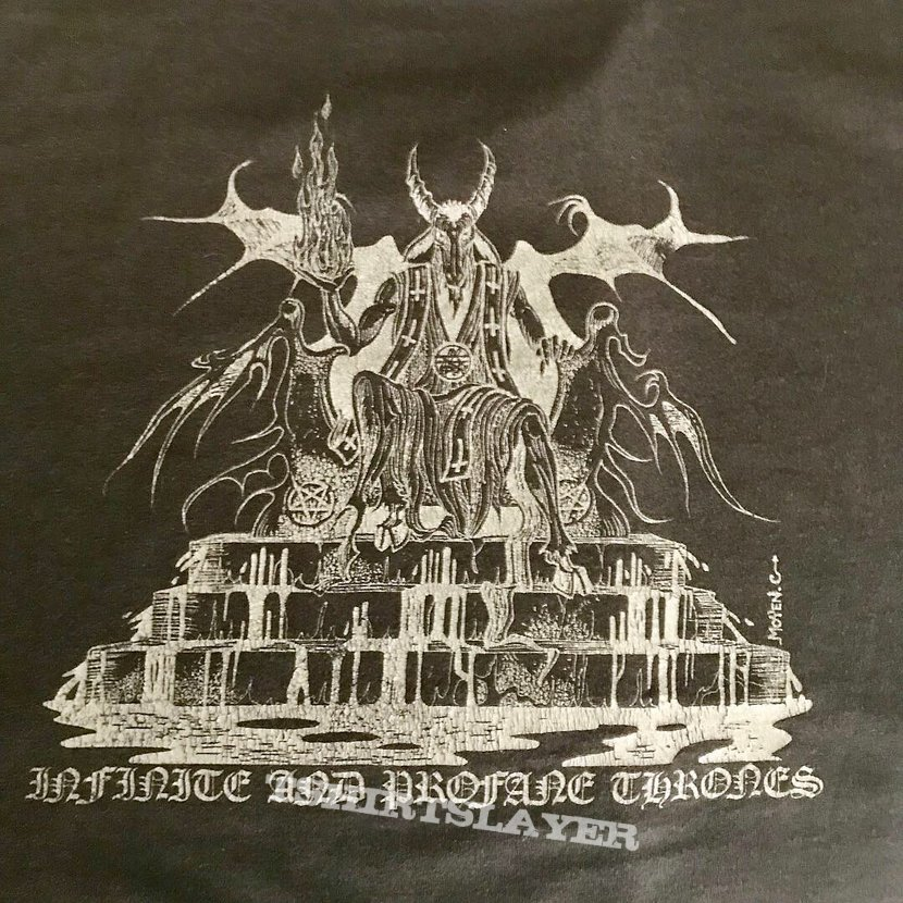 ABSU - Extremely Rare 1992 First Shirt Ever Made