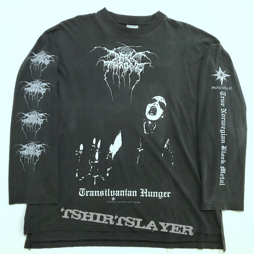 TNBM Darkthrone 1999 Vintage Transilvanian Hunger longsleeve - Official Peaceville issue