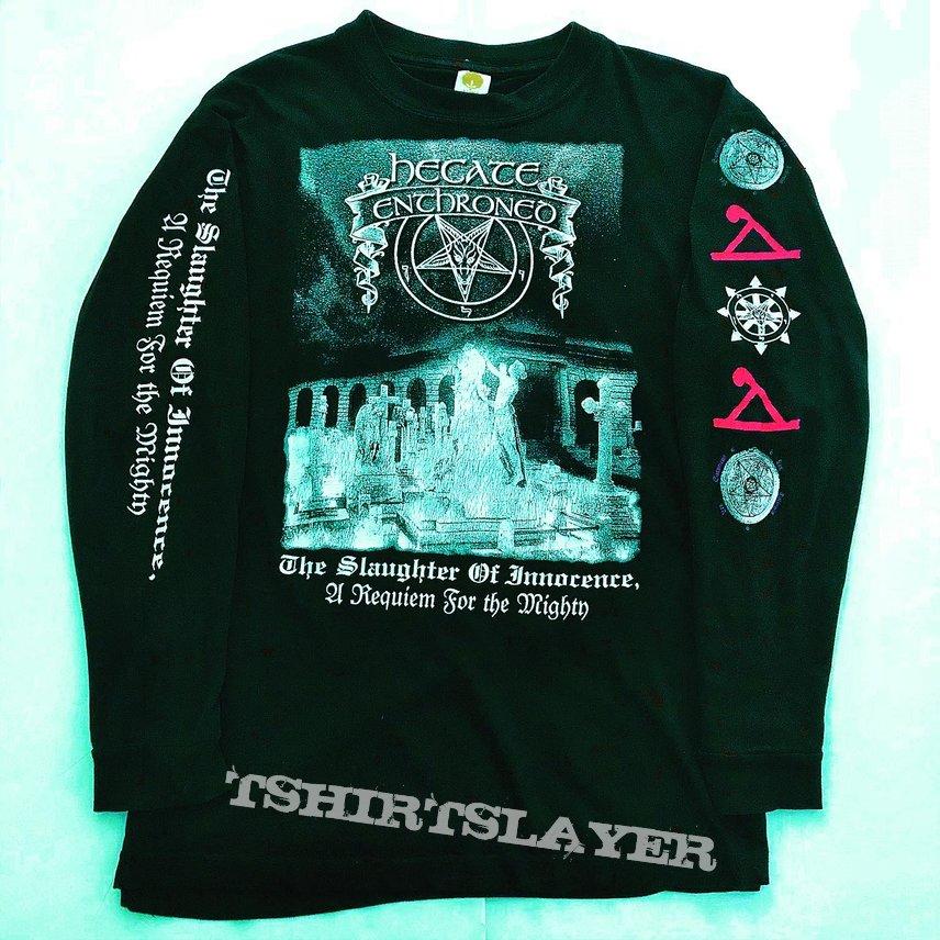 Hecate Enthroned 1997 Innocence Slaughtered Longsleeve Shirt