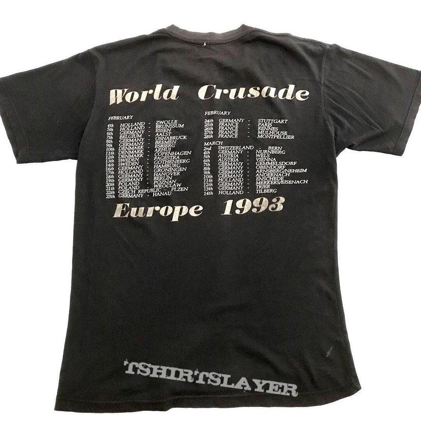 Bolt Thrower 1993 the IVth Crusade tour shirt