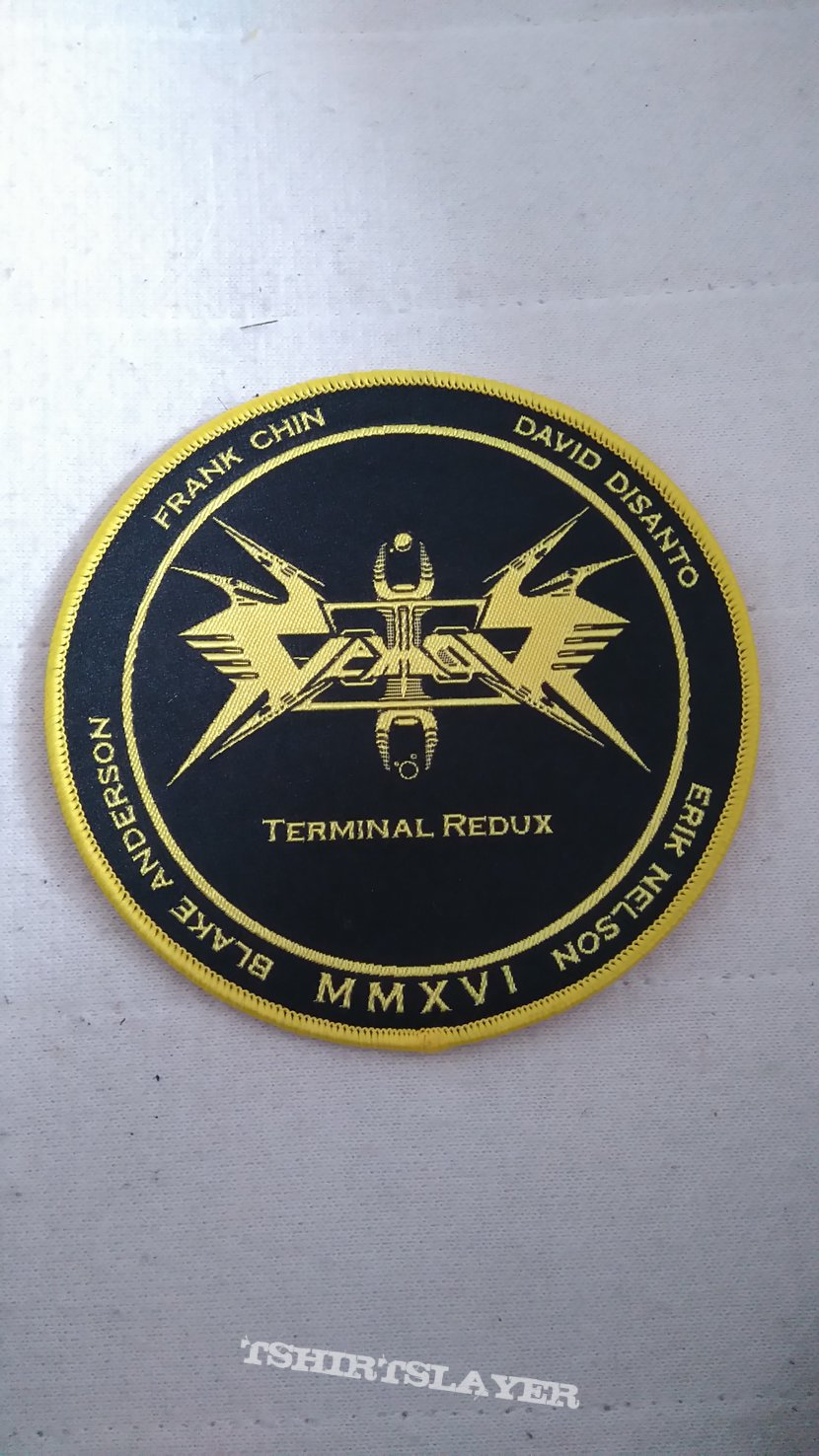 Vektor 'Terminal Redux' limited edition with patch.