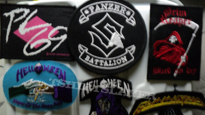 Patches for sale.
