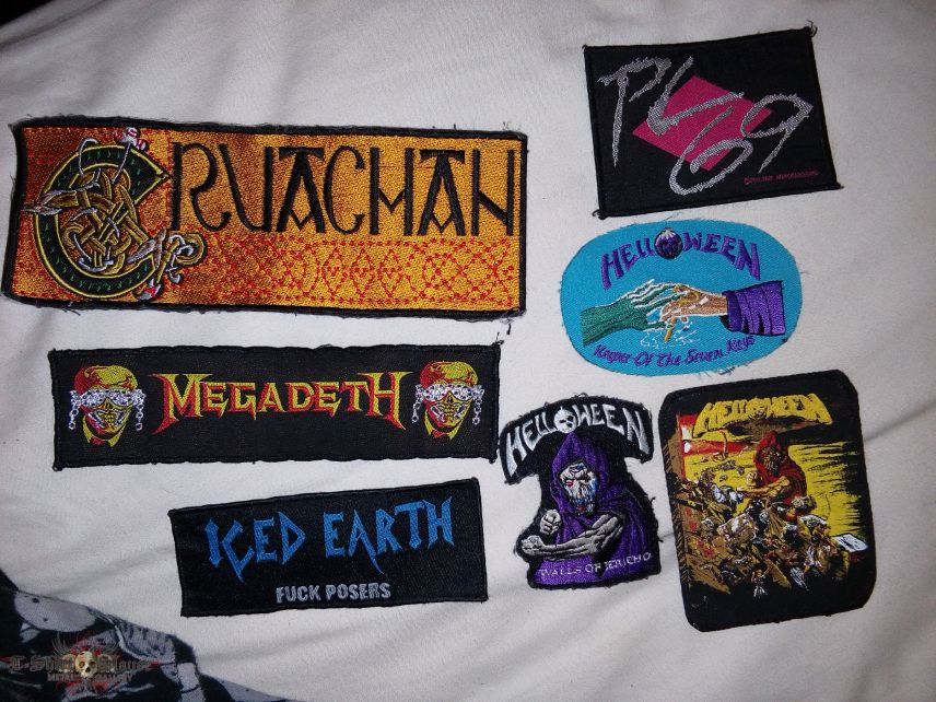 Patches.