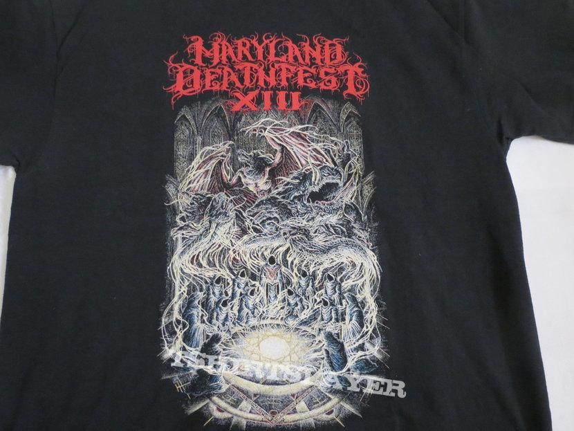 Maryland Deathfest Ritual shirt