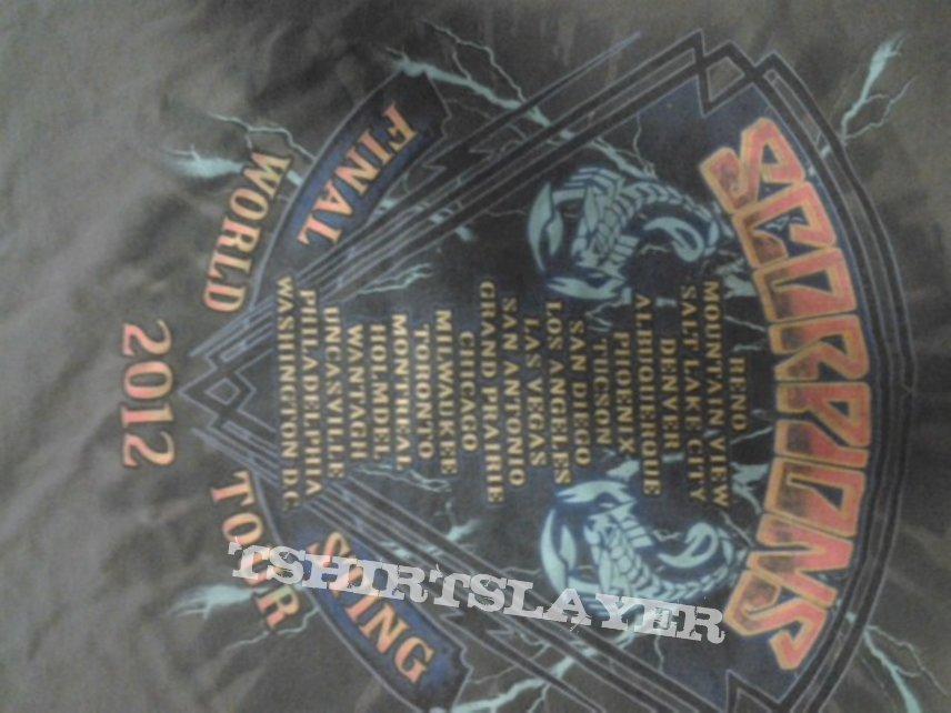 Scorpions Final Sting 2012