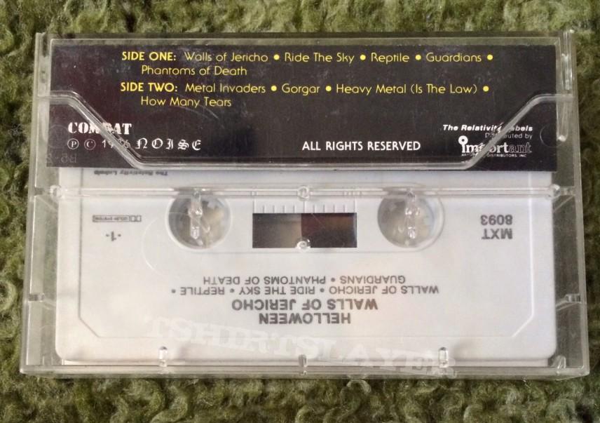 Helloween: Walls of Jericho Cassette