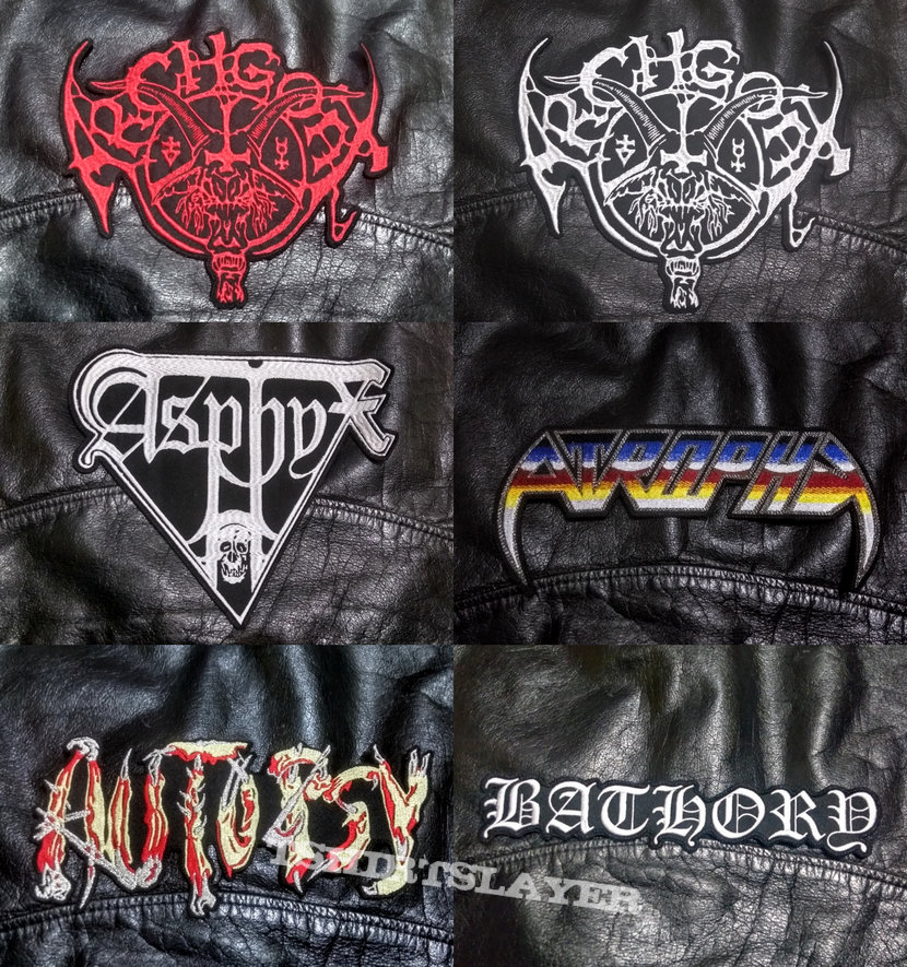 BigLogo Embroidered Shaped-Backpatches I