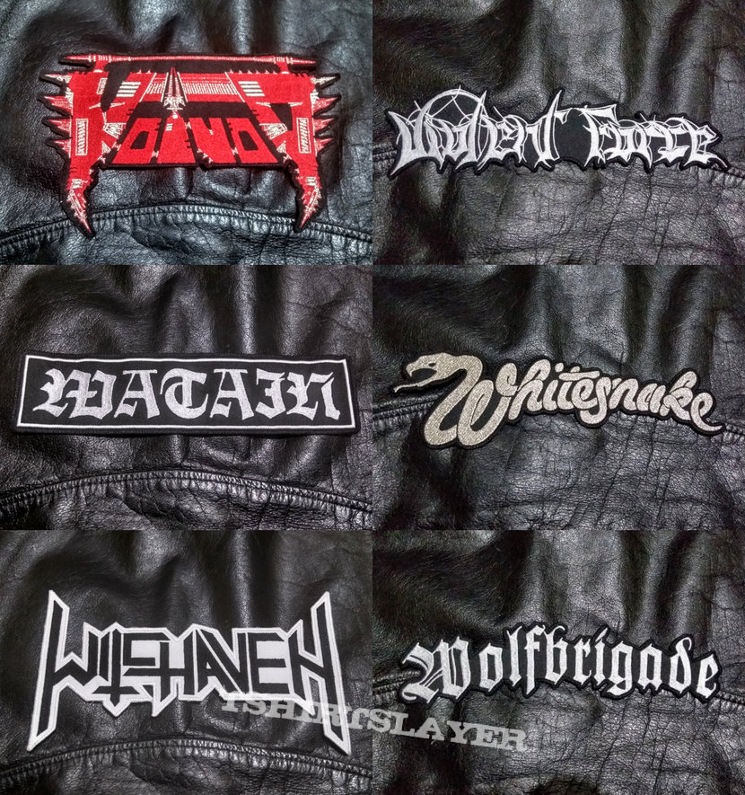BigLogo Embroidered Shaped-Backpatches IV