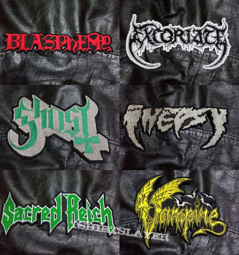 BigLogo Embroidered Shaped-Backpatches VI