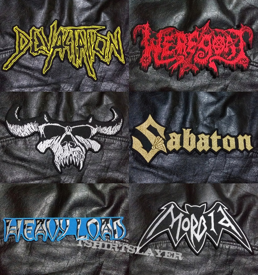 BigLogo Embroidered Shaped-Backpatches VII