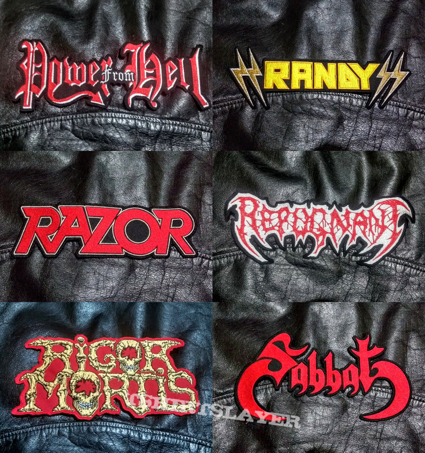 BigLogo Embroidered Shaped-Backpatches V