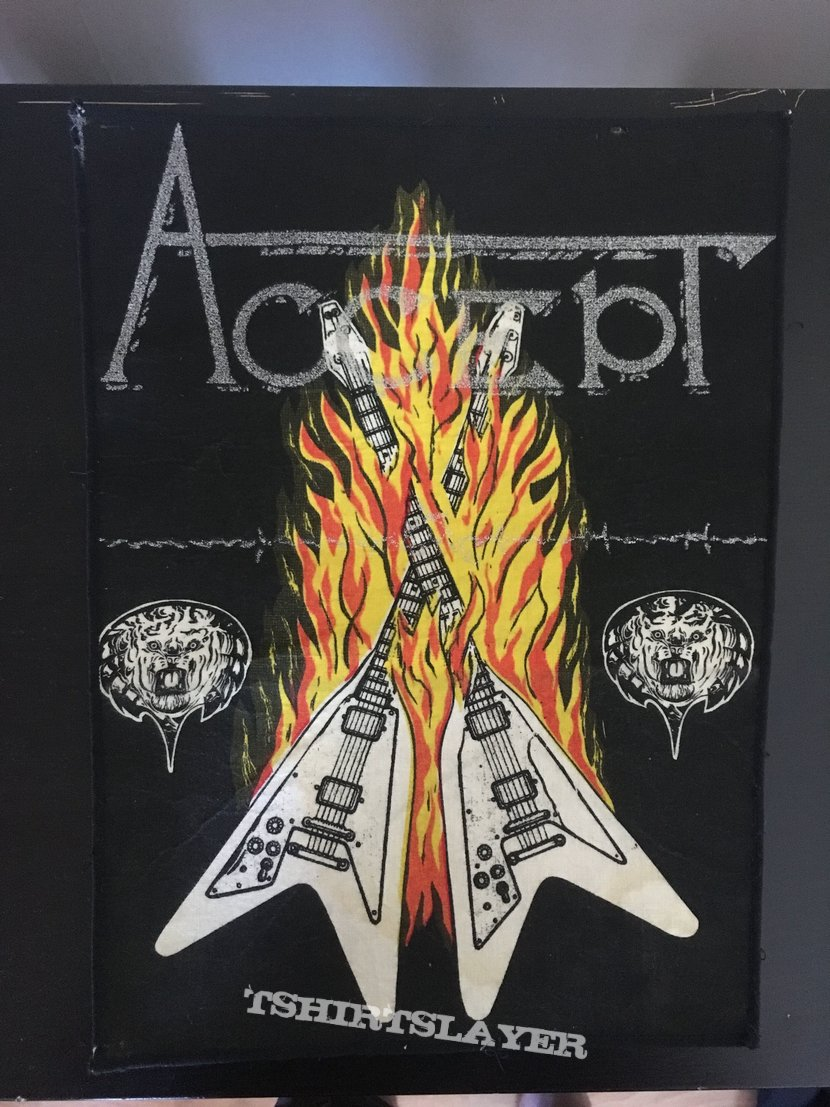 BerrLord's Accept, Accept - Restless and Wild Backpatch