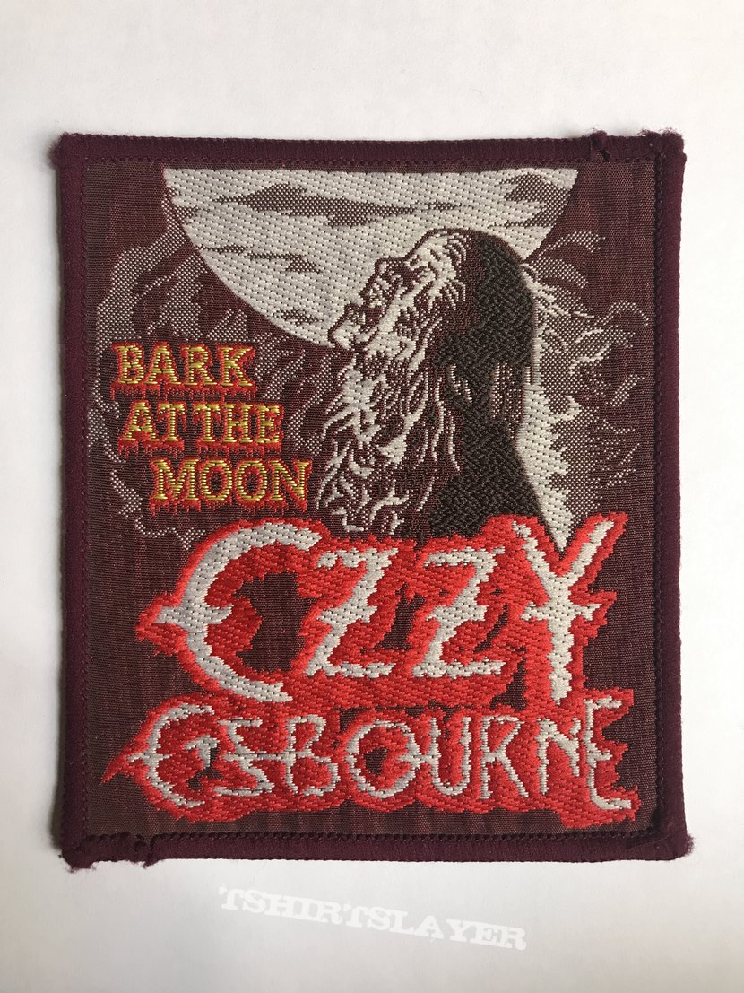 Ozzy Osbourne: Bark at the Moon (Burgundy Border)