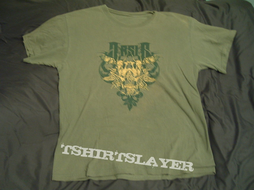 Arsis - United In Regret 2006  tour shirt (green)