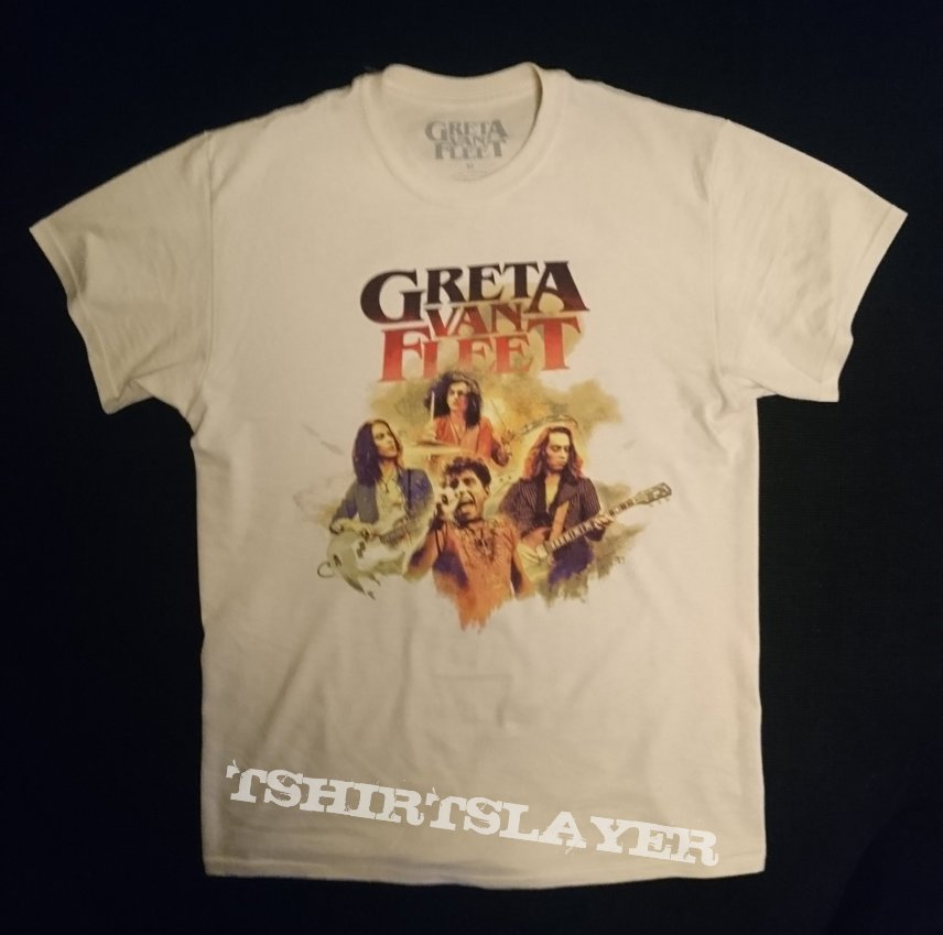 sale uk new appearance Super discount Greta van Fleet 2018 tour shirt | TShirtSlayer TShirt and ...