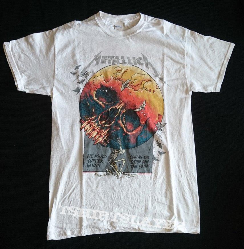 Metallica Europe Awakens 2019 tour shirt
