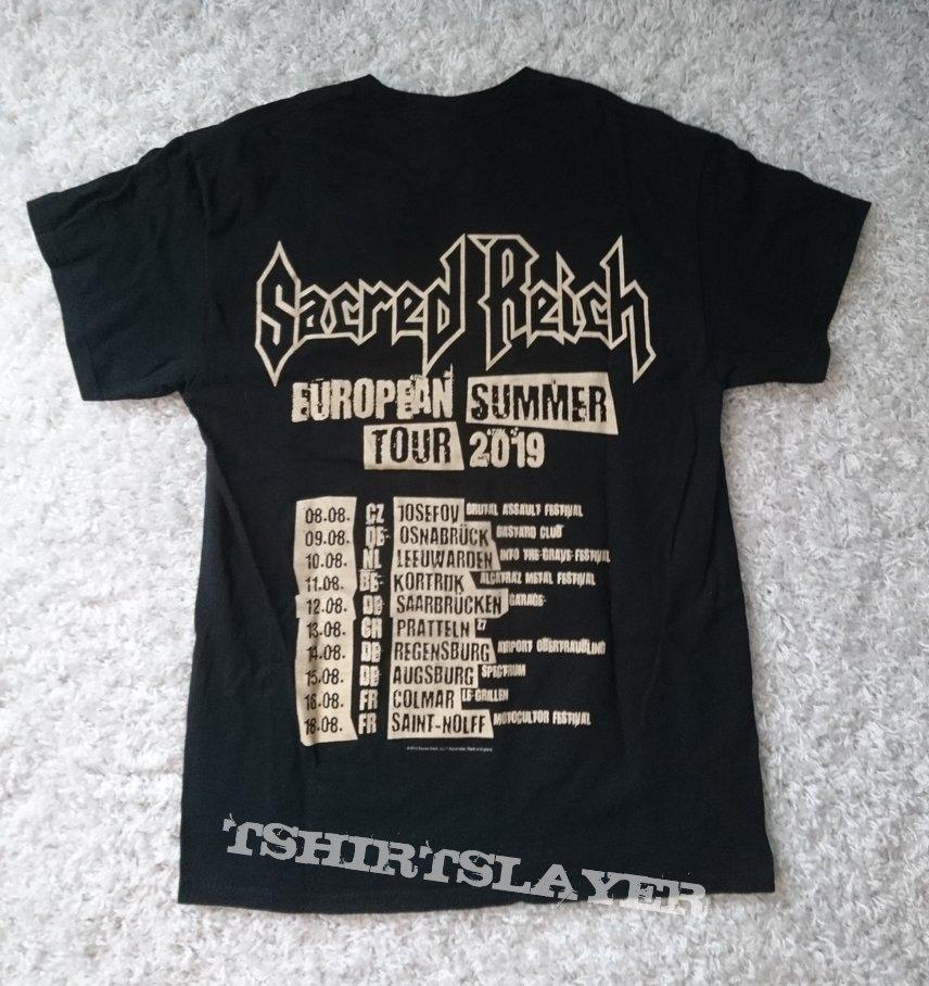 Sacred Reich European summer tour 2019 shirt