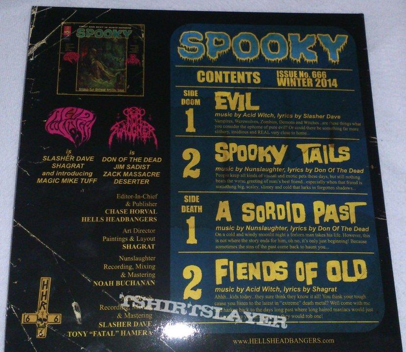 Acid Witch/Nunslaugter - Spooky (Split)