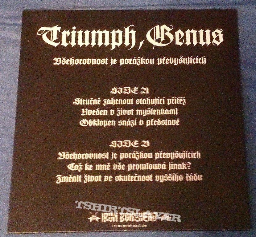 Triumph, Genus - Všehorovnost je porážkou převyšujících