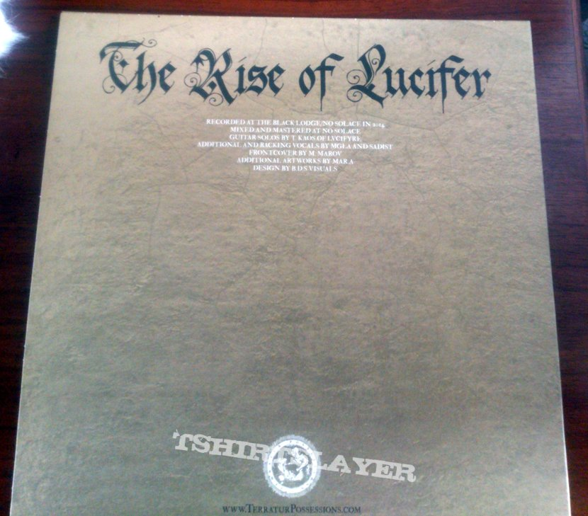 Cultes Des Ghoules - The Rise of Lucifer