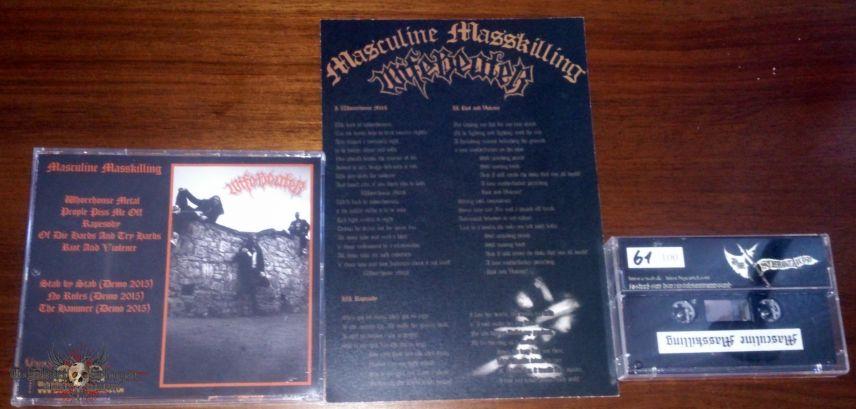 Wifebeater - Masculine Masskilling Tape+CD