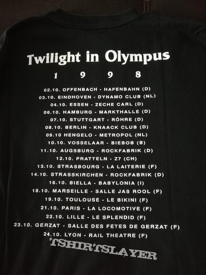 Symphony X - Twilight In Olympus Tour 1998