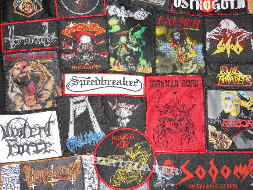 Heavy / Black Thrash vest
