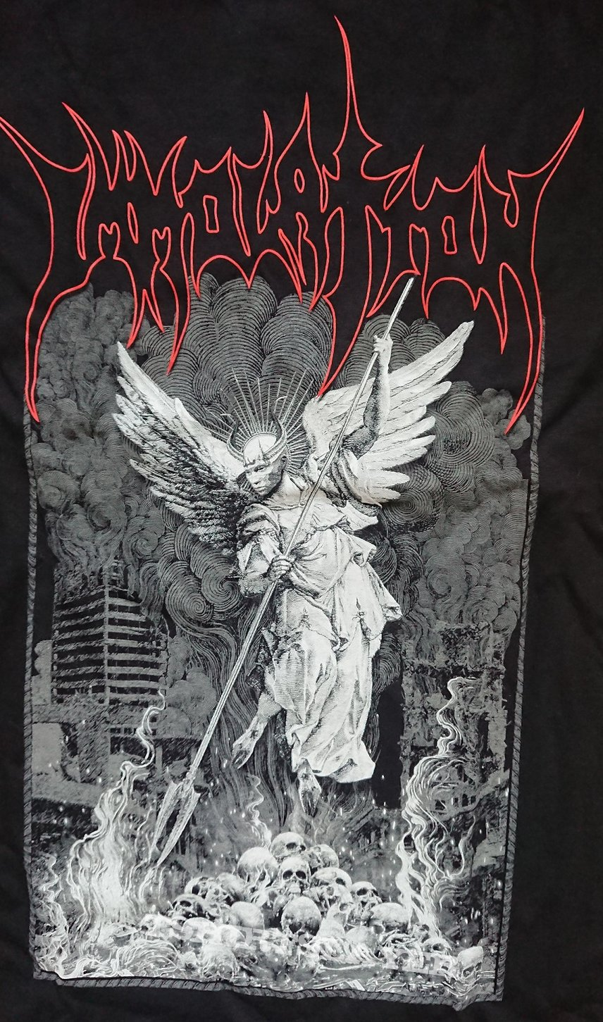 Immolation tshirt