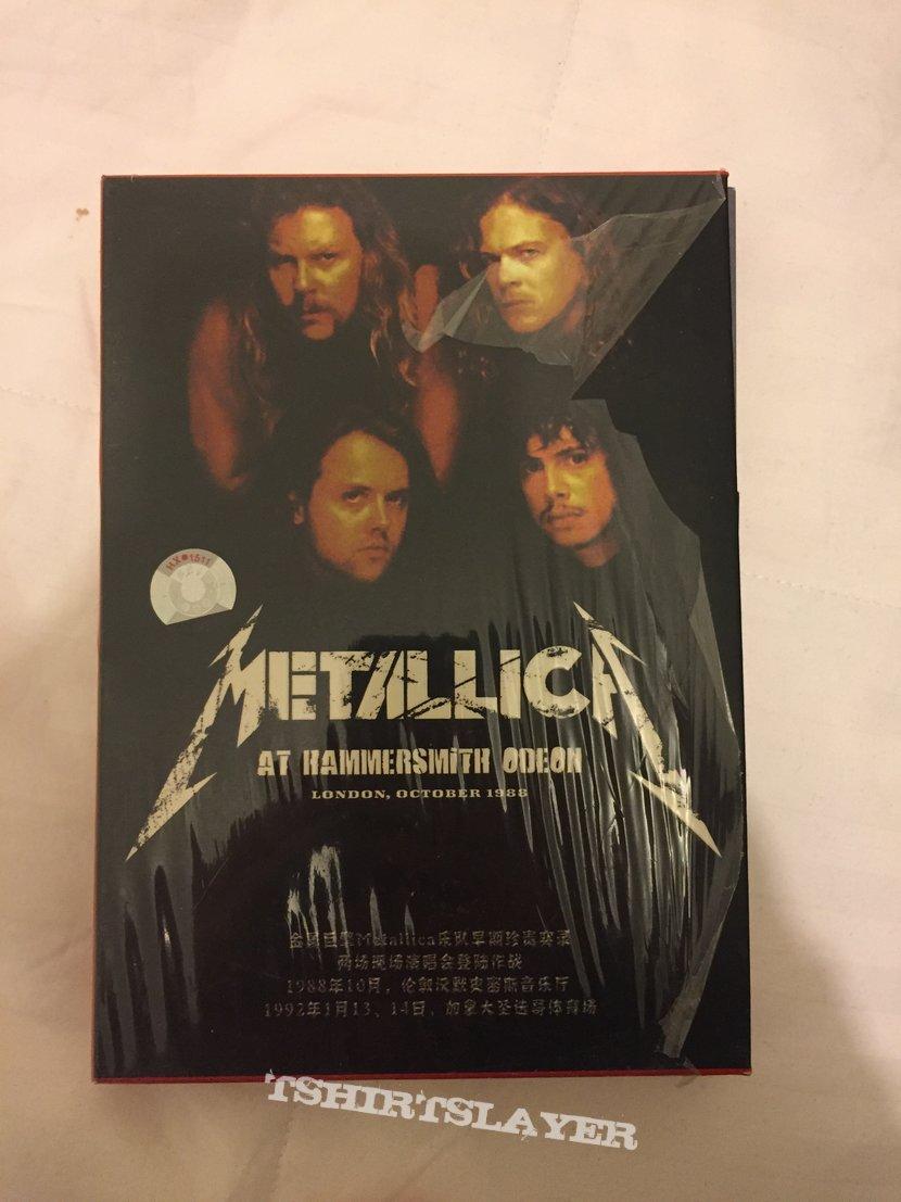 Metallica bootleg DVD live 1988